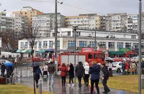 Bombariadó volt egy bukaresti bevásárlóközpontban