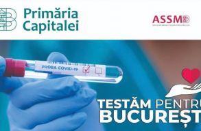A lakosság nagyszabású tesztelésébe kezdenek hétfõtõl Bukarestben