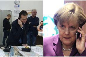 Orban és Merkel telefonon egyeztettek a Németországban dolgozó romániai idénymunkások helyzetérõl