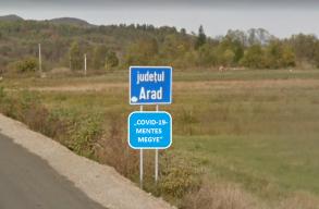 """Arad megyét már """"COVID-19-mentes"""" területnek nevezik a hatóságok"""