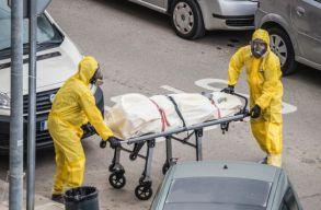 Új nap, újabb rekord: 4902 eset és 98 halott