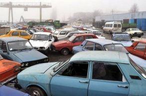 Jövõtõl nem lehet leadni a roncsprogramba a mûszaki vizsga nélküli jármûveket