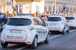 A kolozsvári helyi rendõrök már elektromos autókkal is üldözhetik a bûnt