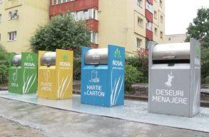 Kétszáz süllyesztett szelektív hulladéktárolót helyeznek el Kolozsváron