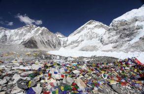 Hulladékproblémák miatt lezárták a kínai Mount Everest-alaptábort a turisták elõtt