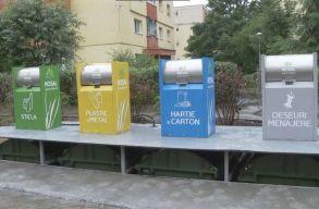 Kolozsvár átáll a négyosztatú szelektív hulladékgyûjtésre