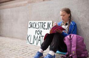 Nobel-békedíjra jelölnék a klímaváltozás ellen tüntetõ svéd tinédzsert