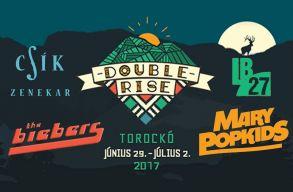 Jövõre is lesz Double Rise, már az elsõ fellépõket is tudni