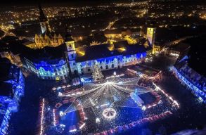 Egyik jobban csillog, mint a másik: erdélyi karácsonyi fényeket néztünk