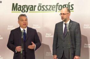 Orbán Viktor szavazásra buzdította a magyar embereket Szatmárnémetiben