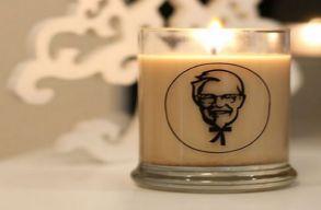 Sültcsirke illatú gyertyát dobott piacra a KFC