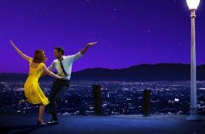 A La La Land kapta a legtöbb Golden Globe-jelölést