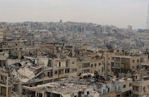 Szörnyû állapotok Aleppóban, búcsúüzeneteket twittelnek a civilek