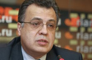 Megölték az orosz nagykövetet Ankarában