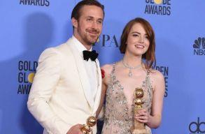 Minden jelölését díjra váltotta a La La Land a Golden Globe-on