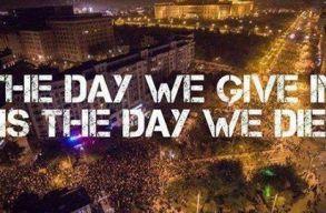 Bukarestben és több nagyvárosban is spontán tüntetéseket tartottak az amnesztiatörvény ellen