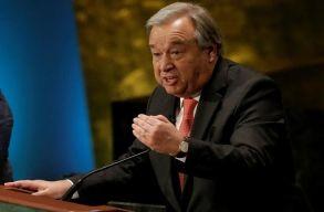 Az erõsödõ idegenellenességre figyelmeztetett az ENSZ-fõtitkár a holokauszt-emléknapon