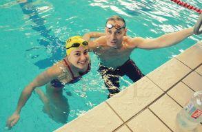 Marosvásárhelyi magyar lány az elsõ romániai nõ, aki 24 órán keresztül úszott