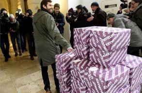 A szükségesnél jóval több aláírás gyûlt össze a budapesti olimpianépszavazáshoz