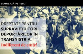 Petíció indult a transznisztriai deportálások utolsó túlélõinek kárpótlásáért