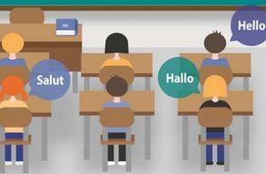 A romániai középiskolások több mint 95 százaléka tanul két idegen nyelvet