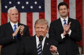 Trump a kongresszus elõtt: merjünk nagyot álmodni