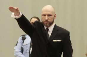 Pert vesztett Breivik a norvég állammal szemben másodfokon