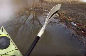 A székelyföldi vizek szennyezettségérõl vár fotókat a Marosvásárhelyi Rádió