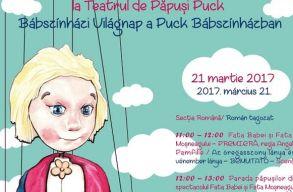 Bábkereséssel, elõadással ünnepli a bábszínházi világnapot a Puck