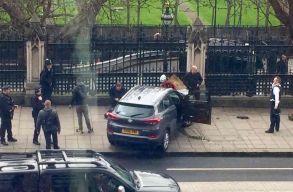 Gázolás és lövöldözés volt a brit parlamentnél