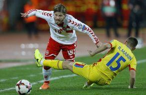 Döntetlent játszottak a románok a dánokkal Kolozsváron