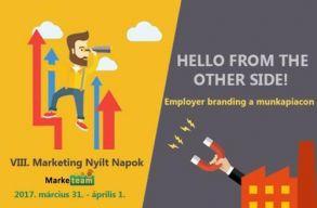 Péntektõl Marketing Nyílt Napok, téma az Employer branding