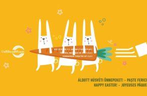 Nyulakkal támad a húsvét! Az üdvözleteinket mutatjuk