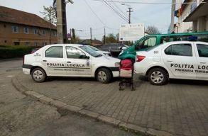 Egy temesvári lakos tilosban parkoló rendõrautót tett ki a Facebookra. A rendõrök meg beidézték az õrsre emiatt