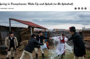 Az erdélyi locsolásról ír a The New York Times