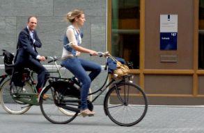 A munkába biciklizés csökkentheti a rák és a szívbetegségek kockázatát