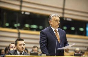 A CEU-ról és a Brüsszel elleni kampányról is vitázott Orbán Viktor az EP-ben