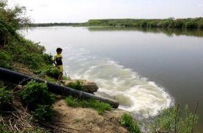 Tényleg halott a Szamos? Leleplezõ videó készült a folyószennyezésrõl