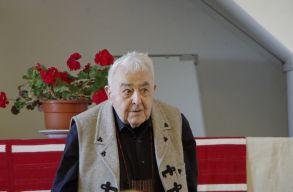 Átadták Kallós Zoltánnak a két Europa Nostra-díjat Válaszúton