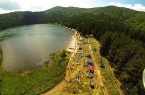 Tilos lehet fürödni a Szent Anna-tóban