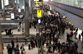 Káosz a londoni reptereken, összes járatát törölte a British Airways