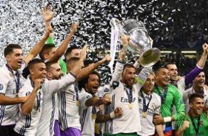 Bajnokok Ligája: megvédte címét a Real Madrid