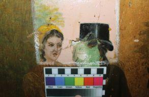 Restaurálják az oltszemi Mikó-kastély falképeit