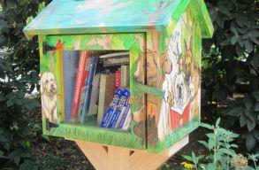 Csereberélõs könyvkuckókat állítanak fel Csíkszereda központi parkjában