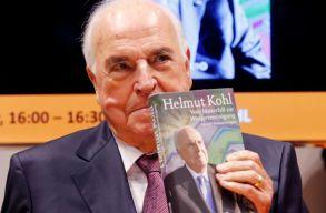 Elhunyt Helmut Kohl volt német kancellár