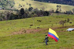 Eltûntek a kommunista gerillák, eltûnt az erdõ is Kolumbiában