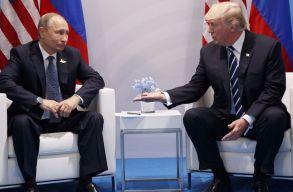 Trump és Putyin titkos hamburgi találkozójától volt hangos az amerikai sajtó - de csak vacsoráztak