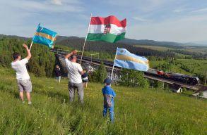 Magánterületekrõl is beszedetné a székely és magyar zászlókat a Maros megyei prefektus