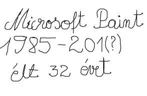 A Microsoft azt tervezi, hogy lassan megöli a Paintet