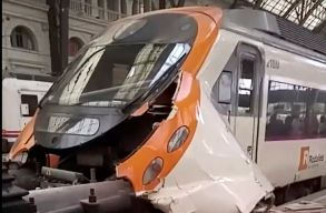 Egy román állampolgár is megsérült a barcelonai vonatbalesetben